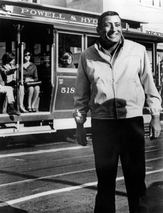 Tony Bennett as he toured San Francisco for his television special1966 - Image 7295_0017