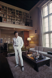 Alejandro Rey at home1968© 1978 Gene Trindl - Image 7316_0001