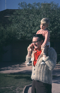 Steve Allen with son, c. 1958. © 1978 Gerald Smith - Image 7325_0028