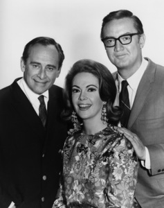 Steve Allen, Jayne Meadows and Louis Nye1964Photo by Gabi Rona - Image 7325_0031