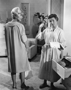 """Doris Day and Ann B. Davis in """"Lover Come Back""""1961 Universal** B.D.M. - Image 7483_0006"""