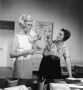 """Doris Day and Ann B. Davis in """"Lover Come Back""""1961 Universal** B.D.M. - Image 7483_0008"""