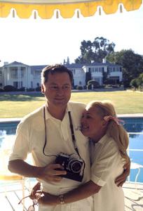 William Barron Hilton with wife Marilyn Hawley1970 © 1978 Gunther - Image 7485_0014