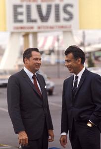 William Barron Hilton with Kirk Kerkorian in Las Vegas, Nevada1970 © 1978 Gunther - Image 7485_0015