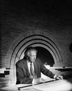 Architect Frank Lloyd Wrightcirca 1955© 1978 John Engstead - Image 7500_0010