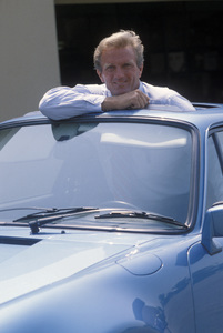 Otis Chandler in his 1979 Porsche 930 Turbo1979 © 1979 Gunther - Image 7501_0003