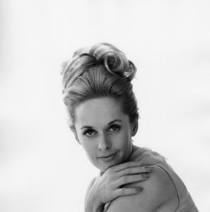 """Tippi Hedren posing for a publicity still for """"Marnie""""1964** I.V. - Image 7507_0048"""