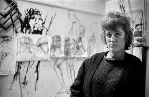 Elisabeth Frink1956© 1978 Bob Willoughby - Image 7512_0021
