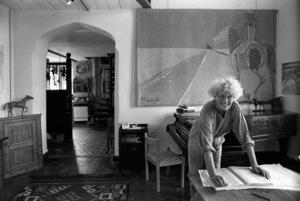 Elisabeth Frink1984© 1984 Bob Willoughby - Image 7512_0025