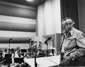 Henry Mancini during a recording session1979 © 1979 Gunther - Image 7516_0040