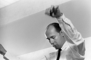 Henry Mancini during a recording session1964 © 1978 Sid Avery - Image 7516_0045