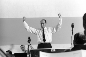 Henry Mancini during a recording session1964 © 1978 Sid Avery - Image 7516_0047