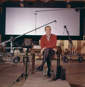 Henry Mancini during a film scoring session at 20th Century Fox1962 © 1978 Ken Whitmore - Image 7516_0048