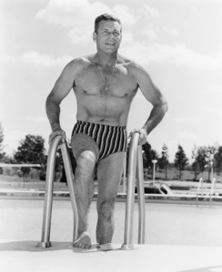 Buster Crabbe, The Concord, Kiamesha Lake, NY, 1950s, **I.V. - Image 7548_0004