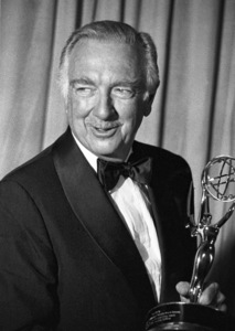 Walter Cronkite and his Emmy Award1979© 1979 Michael Jones - Image 7556_0017