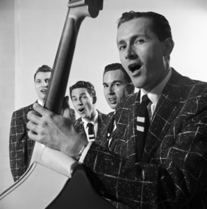 The Four Freshmen (Ray Brown, Bob Flanigan, Ross Barbour)1952 © 1978 Sid Avery - Image 7562_0004
