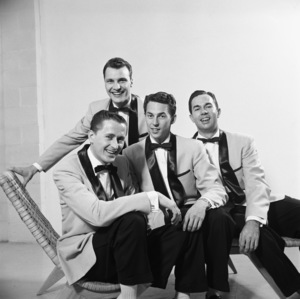 The Four Freshmen (Ray Brown, Bob Flanigan, Ross Barbour)1952 © 1978 Sid Avery - Image 7562_0005