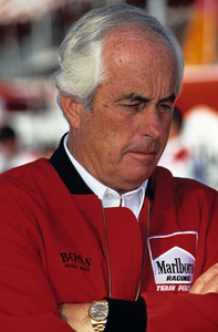 Roger Penske in the pits at the Long Beach Grand Prix in Long Beach, CA1992 © 1992 Ron Avery - Image 7569_0001