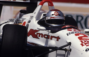 Mario Andretti at the Long Beach Grand Prix 1992© 1992 Ron Avery - Image 7570_0004