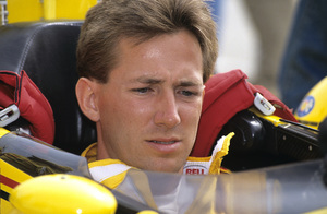 John Andretti in the pits at the Long Beach Grand Prix in Long Beach, CA1992 © 1992 Ron Avery - Image 7580_0004