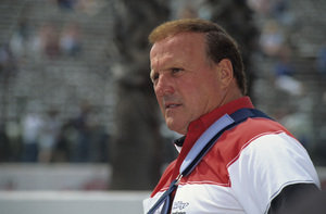 A.J. Foyt, owner of Foyt Racing, at the Long Beach Grand Prix in Long Beach, CA1992 © 1992 Ron Avery - Image 7583_0001