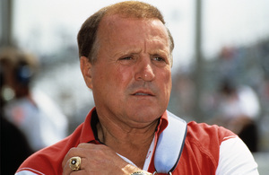 A.J. Foyt, owner of Foyt Racing, at the Long Beach Grand Prix in Long Beach, CA1992 © 1992 Ron Avery - Image 7583_0003