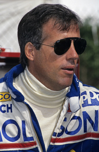 Danny Sullivan in the pits at the Long Beach Grand Prix in Long Beach, CA1992 © 1992 Ron Avery - Image 7585_0011