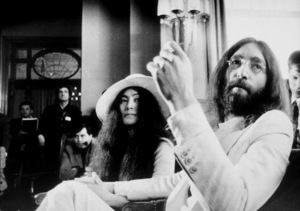John Lennon and Yoko Ono meets the press at the Montreux Palace Hotel,April 26, 1969MPTV - Image 7648_0005_06