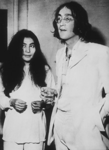 John Lennon and Yoko Ono at Mayfair GalleryJuly 1, 1968 - Image 7648_0007