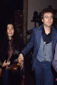 John Lennon with Yoko Onocirca 1970s© 1978 Gary Lewis - Image 7648_0045
