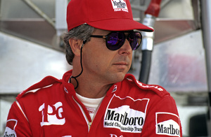 Rick Mears in the pits at the Long Beach Grand Prix in Long Beach, CA1992 © 1992 Ron Avery - Image 7657_0012
