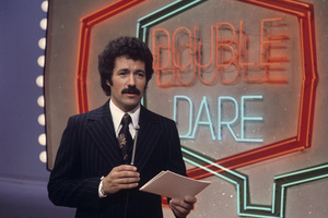 "Alex Trebek hosting ""Double Dare""1978Photo by Gabi Rona - Image 7665_0003"