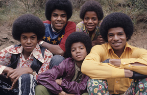 The Jacksons (Tito, Marlon, Jermaine, Michael, Jackie)1971Photo by Henry Diltz** F.R. - Image 7670_0013