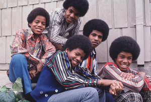 The Jacksons Marlon, Tito, Jackie, Jermaine, Michael 1971 Photo by Henry Diltz ** F.R. - Image 7670_0025