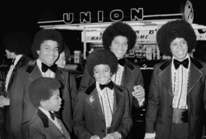 The Jackson Five at the Image AwardsTop Row ( L-R): Tito, Marlon, Jackie, JermaineBottom Row (L-R): Randy, Michael1972 © 1978 Kim Maydole Lynch - Image 7670_0027