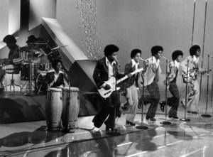 The JacksonsRandy, Tito, Marlon, Jackie, Michael, Jermaine Jacksoncirca 1976Photo by Gabi Rona - Image 7670_0028