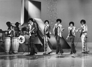 The JacksonsRandy, Tito, Marlon, Jackie, Michael, Jermaine Jacksoncirca 1976Photo by Gabi Rona - Image 7670_0029