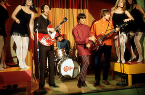 """Monkees, The""Peter Tork, David Jones, Mike Nesmith,Micky Dolenz1967 NBC © 1978 David SuttonMPTV - Image 7671_0039"