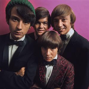"""The Monkees""Michael Nesmith, Davy Jones, Micky Dolenz, Peter Tork 1966 © 1978 Ken Whitmore - Image 7671_0103"