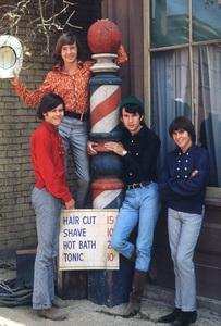 """The Monkees"" Davy Jones, Micky Dolenz, Michael Nesmith, Peter Tork 1966 © 1978 Gene Trindl - Image 7671_0109"