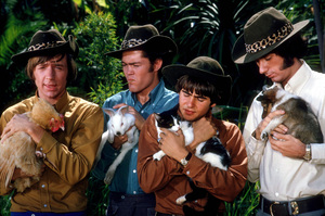 """Monkees, The""Peter Tork, Micky Dolenz, David Jones,Mike Nesmith1967 NBC © 1978 Gene TrindlMPTV - Image 7671_0110"