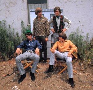 """The Monkees""Mike Nesmith, Peter Tork, Micky Dolenz, David JonesC. 1966 © 1978 Ken Whitmore - Image 7671_0174"