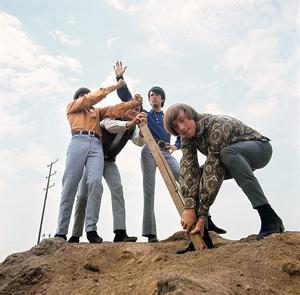 """The Monkees""Michael Nesmith, Davy Jones, Micky Dolenz, Peter Tork 1966 © 1978 Ken Whitmore - Image 7671_0175"