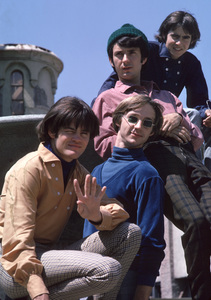 """The Monkees"" Davy Jones, Micky Dolenz, Michael Nesmith, Peter Tork 1966 © 1978 Gene Trindl - Image 7671_0185"