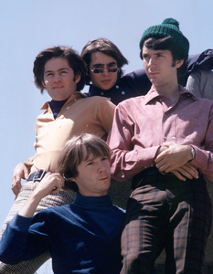 """The Monkees"" Davy Jones, Micky Dolenz, Michael Nesmith, Peter Tork 1966 © 1978 Gene Trindl - Image 7671_0198"
