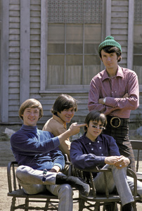 """The Monkees""Peter Tork, Micky Dolenz, Davy Jones, Michael Nesmith1966 © 1978 Gene Trindl - Image 7671_0199"