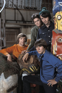 """The Monkees""Peter Tork, Micky Dolenz, Michael Nesmith, Davy Jones1966 © 1978 Gene Trindl - Image 7671_0200"