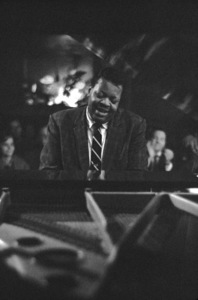 Oscar Peterson performing at a nightclub in Los Angeles, CAcirca 1957 © 1978 Ken Whitmore - Image 7674_0002