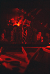 Oscar Peterson performing at a nightclub in Los Angeles, CAcirca 1957 © 1978 Ken Whitmore - Image 7674_0003