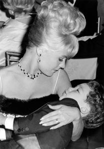 Sandra Dee with son Dodd Darin atHusband Bobby Darin